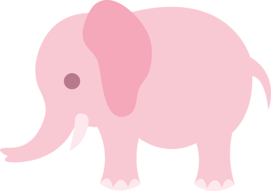 little pink elephant clip art free clip art quilting shapes