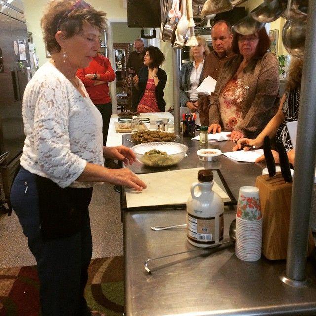 Rita Romano Sharing Her Recipes At The Soflorawfoodretreat This Morning Rawbreakfast Rawfoods Ourrawlif Raw Breakfast Raw Food Recipes Tito S Vodka Bottle