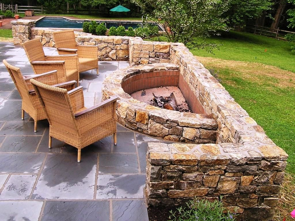 Awesome Awesome Rustic Outdoor Fire Pit Ideas New In Furniture Design Gallery Wonderful Exterior Insp Outdoor Fire Pit Designs Backyard Fire Outdoor Fire Pit