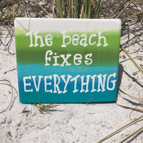 Beach Sign Decor Best Beach Wall Decor Wooden Beach Themed Sign Coastaldebdebscrafts Review