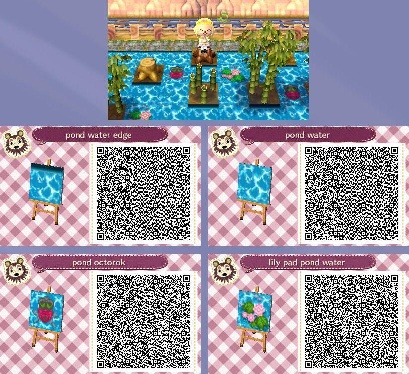 Animal Crossing New Leaf Hhd Qr Code Paths Photo Animal Crossing Animal Crossing 3ds Animal Crossing Game