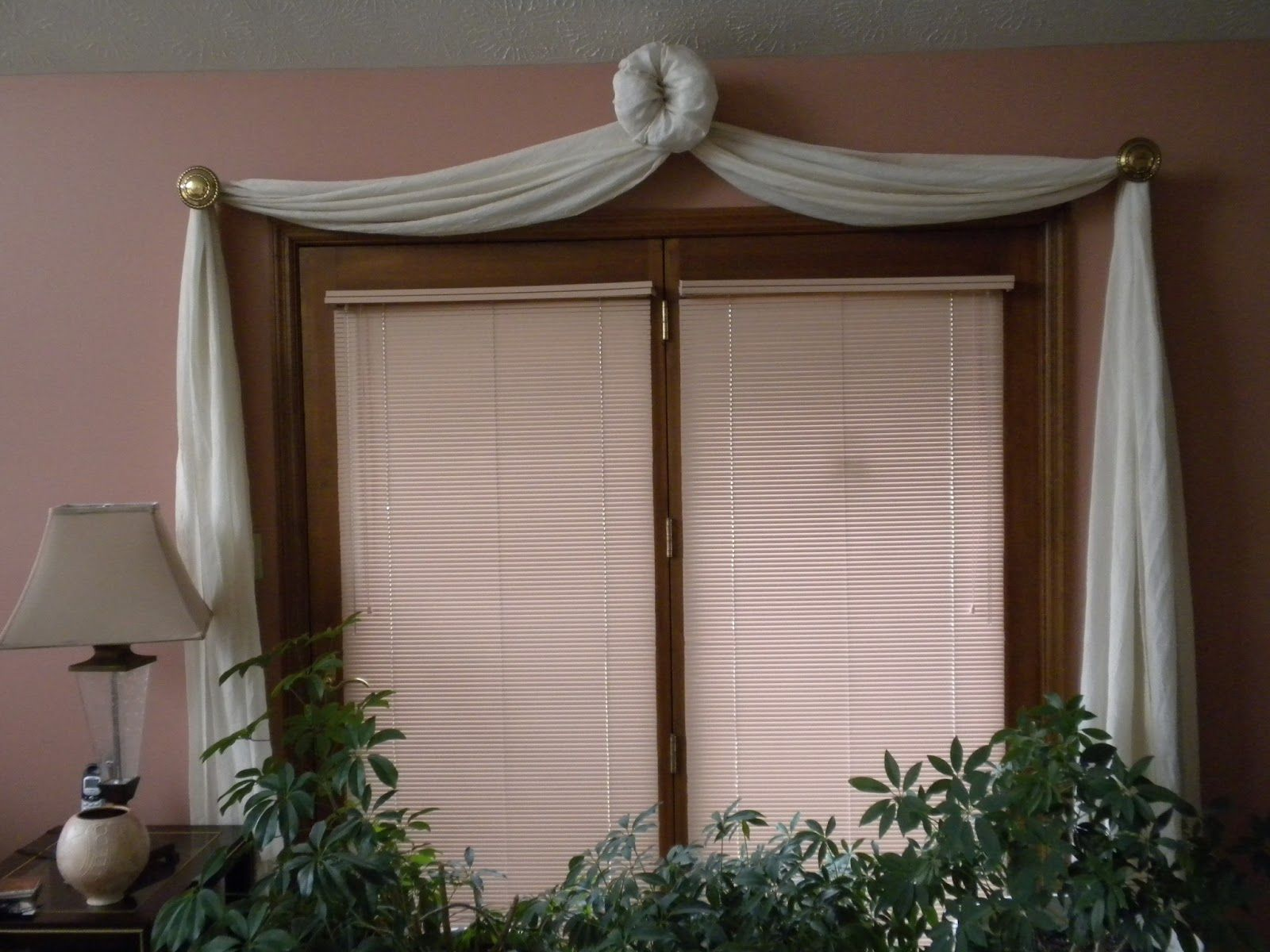 Window Treatments For French Doors To A Patio Third Treatment