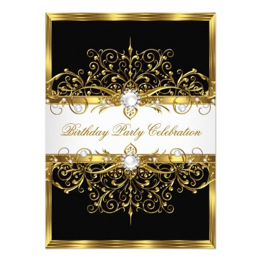 410 elegant birthday party invitations