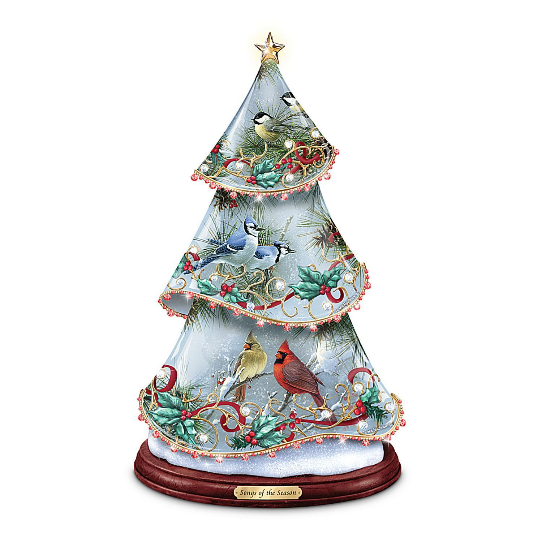 Table Tree: Songs Of The Season Tabletop Tree | Christmas ...