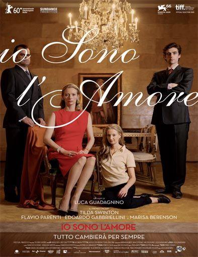 Poster de Io sono l'amore (El amante)
