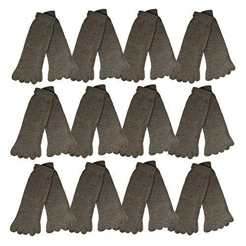 Amazon Com Rsg Hosiery Men S Women S Toe Socks 6 Or 12 Pack Crew Or Shorties Length Clothing Toe Socks Women Men
