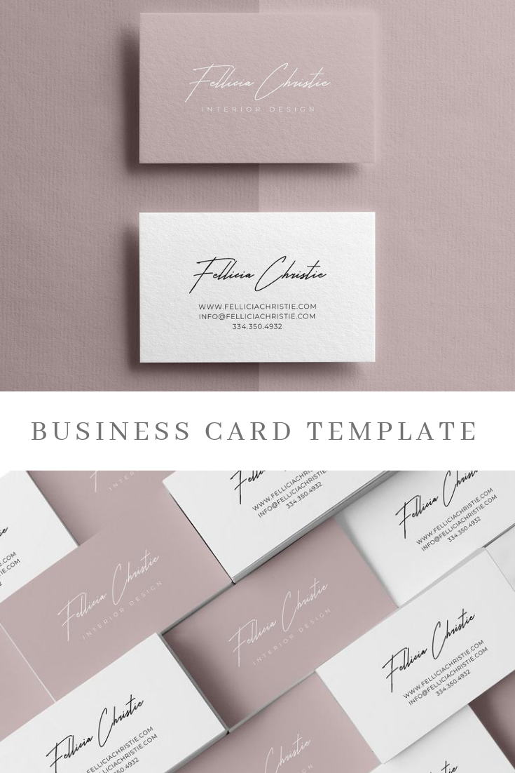 Minimalist Business Cards Elegant Business Card Template Instant Download Editable Printable Business Cards Minimalist Business Cards Elegant Business Cards