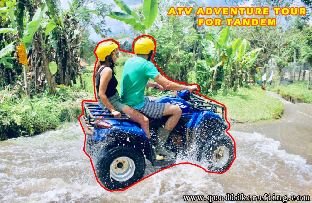 The Latest Price Of Atv Tandem Bali In Waterfall Forest And Cave