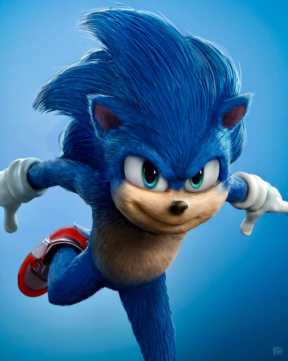 Raf Grassetti On Twitter In 2020 Sonic Hedgehog Movie Sonic The Movie