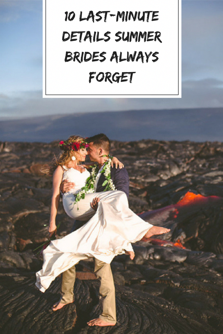 9f4f53a8b80 Summer wedding season is in full swing and before you know it your big day  will