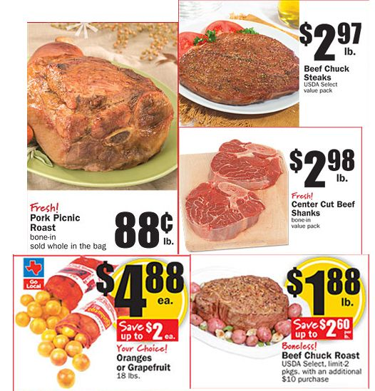 Modern Saver: Best Meat, Produce, Dairy, and More Deals This Week