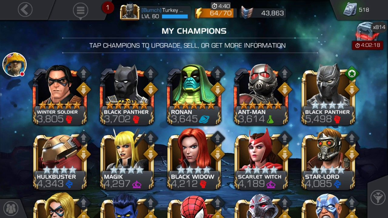 marvel contest of champions units hack 2018