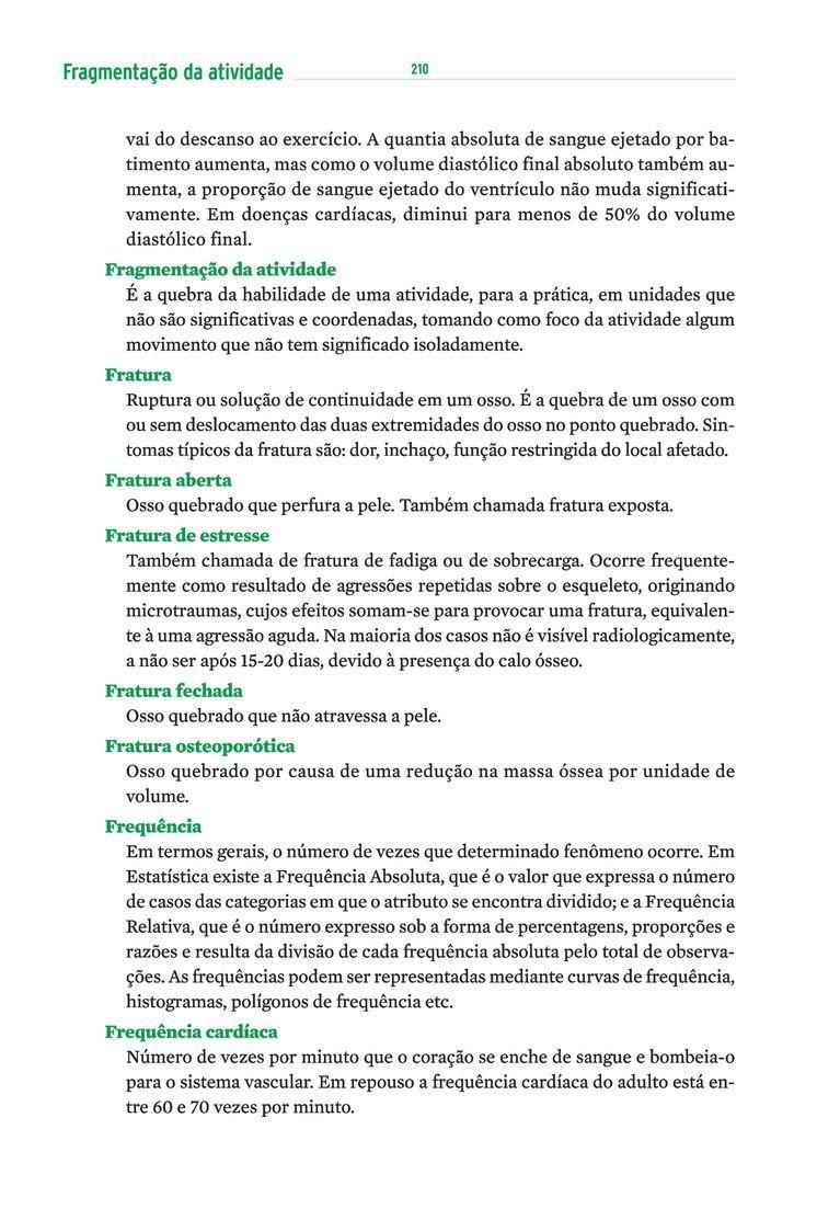 Página 220  Pressione a tecla A para ler o texto da página
