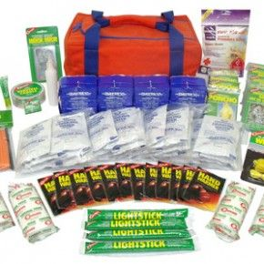 $117.95 Basic 72 Hour Kit 4 Persons - Just in time for Zombie Preparedness week!