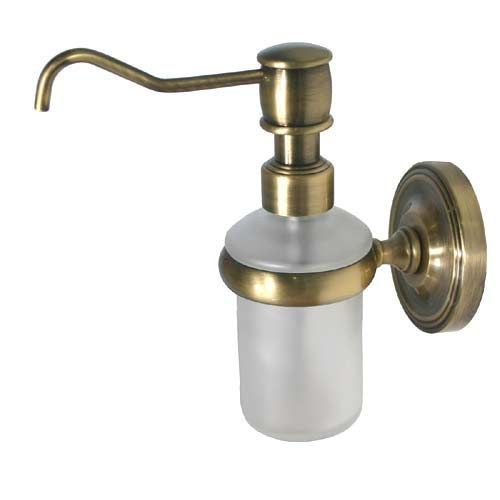 Allied Brass Satin Nickel Wall Mounted Soap Dispenser Pr