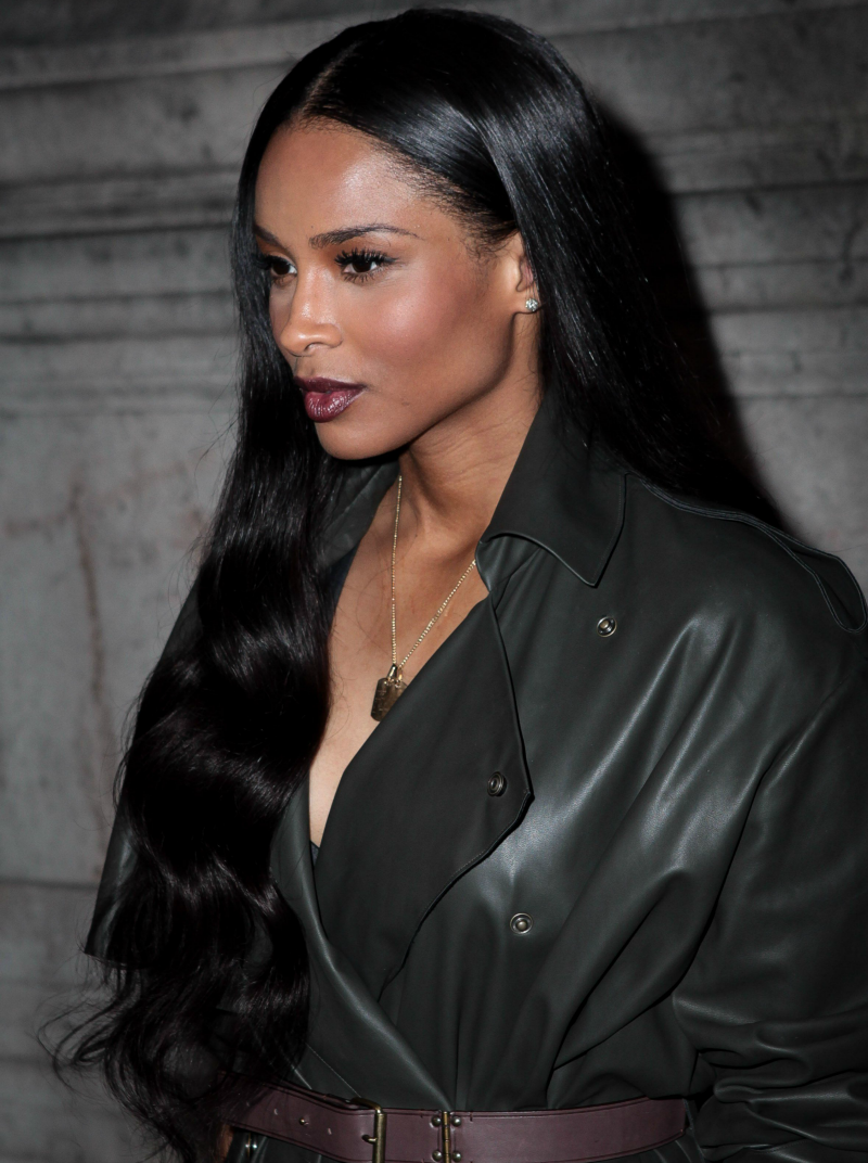 Ciara at lanvinus ss readytowear collection show in