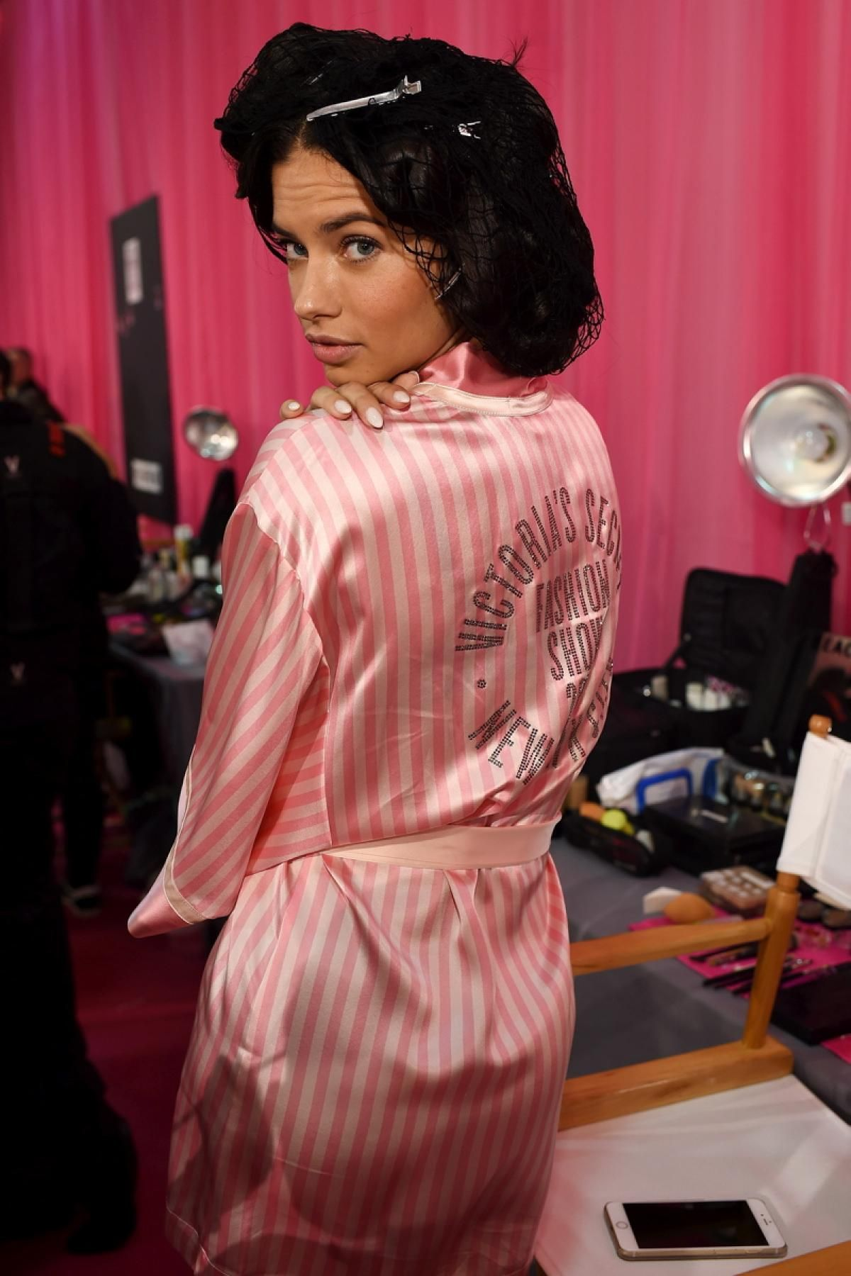 Adriana Lima - Photos - Backstage at the 2015 Victoria's ...