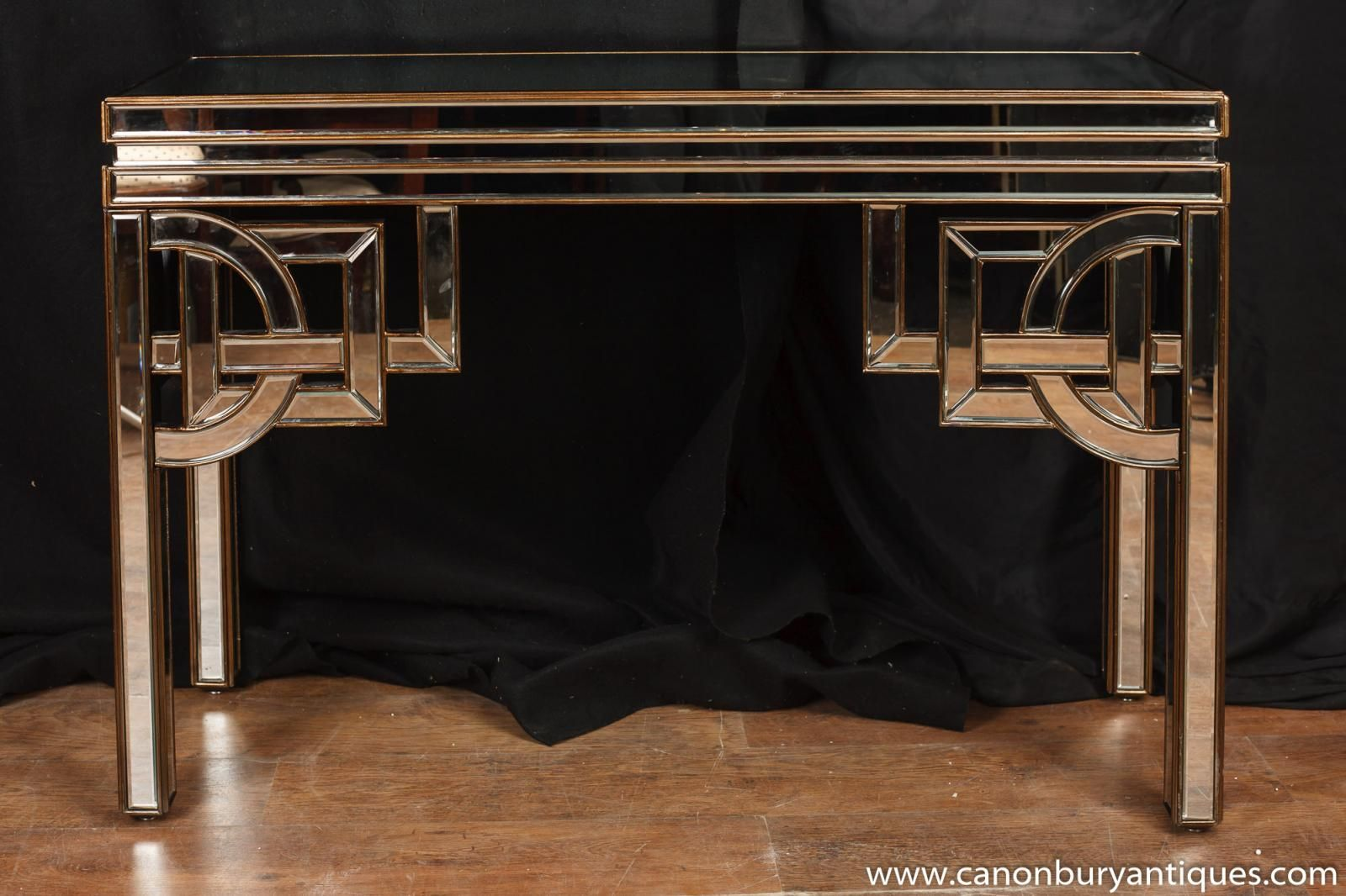 Photo Of Art Deco Mirrored Console Table Hall Tables 1920s Furniture