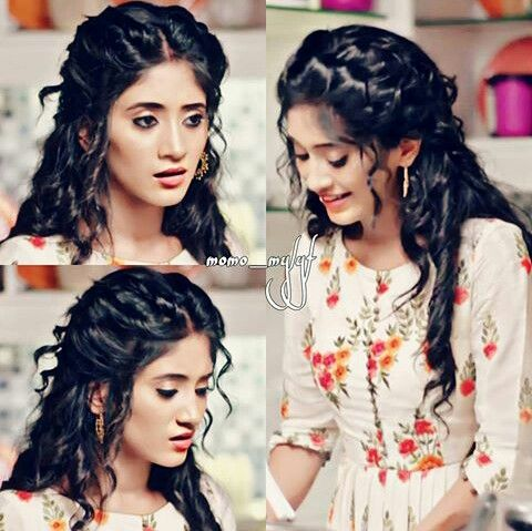 She Is So Cute Naira Shivangijoshi18 Girly Hairstyles Hair Pictures Stylish Girl Images