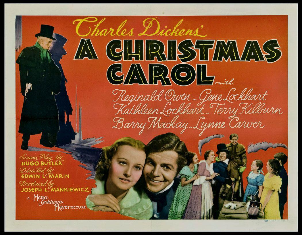 Original Christmas Carol Movie.A Christmas Carol 1938 Charles Dickens Classic Original