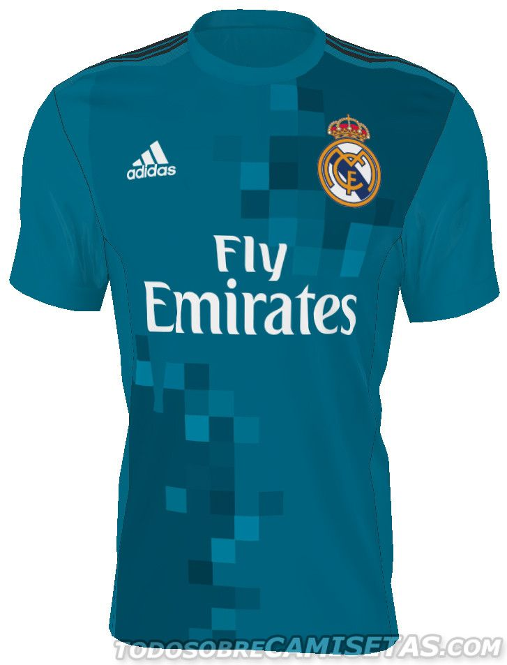 2d30f4fed8f1e ANTICIPO  Camisetas adidas de Real Madrid 2017-18