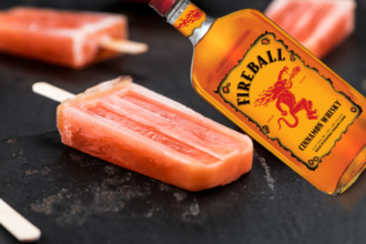 Fireball Whisky Root Beer Popsicles Will Change Your Life Root Beer Popsicles Frozen Drinks Fireball Recipes