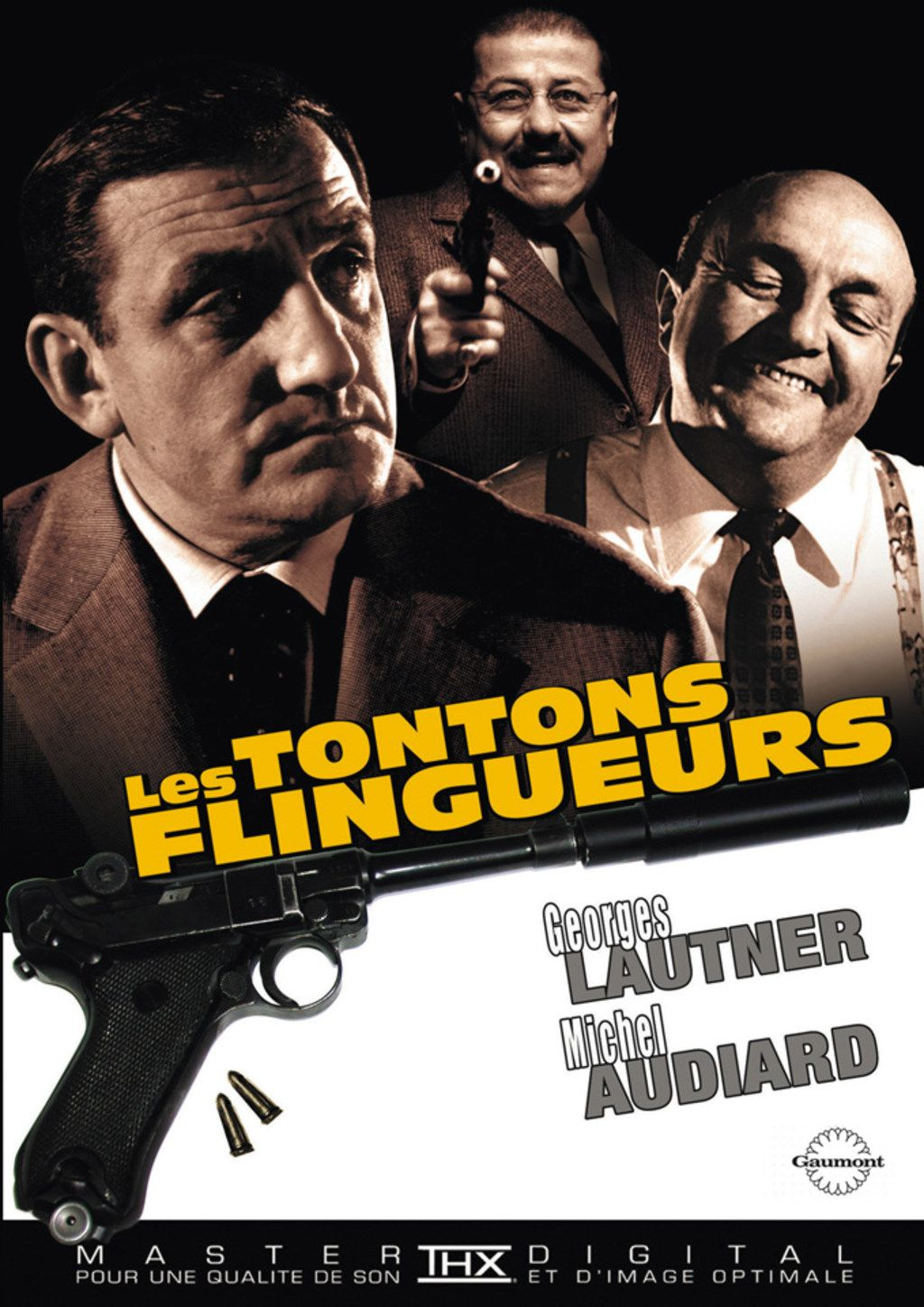 affiche du film les tontons flingueurs pinterest les. Black Bedroom Furniture Sets. Home Design Ideas