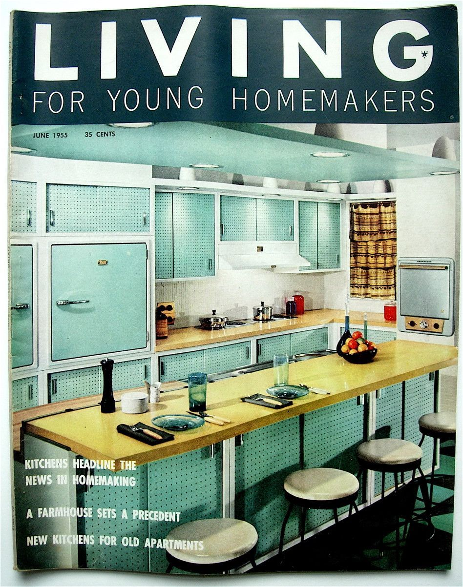 Living for Young Homemakers June 1955 | Products