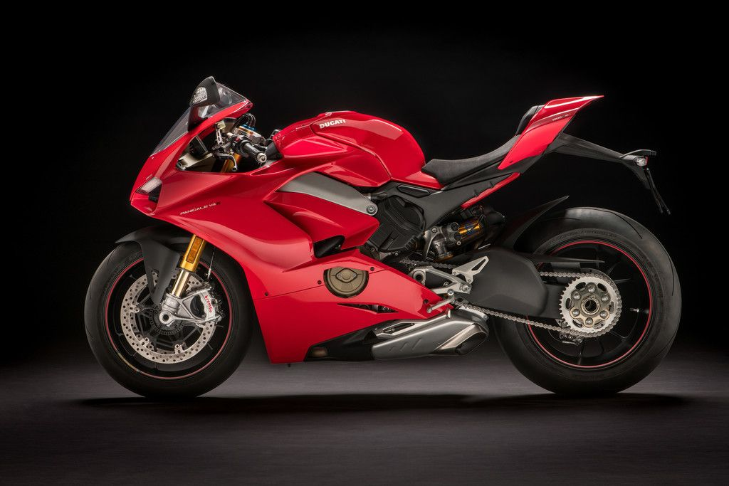 Ducati Panigale V4 Sports Bike Red 4k Wallpaper Ducati Panigale Panigale Ducati