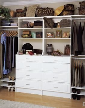 I Want A Closet With Built In Dresser In My Next House