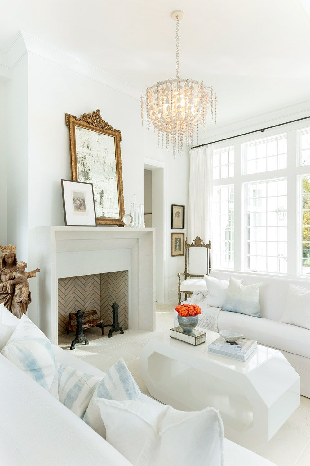 interior photographyleslee mitchell all white living