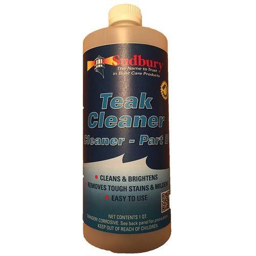 Sudbury Teak Cleaner Part B - Quart