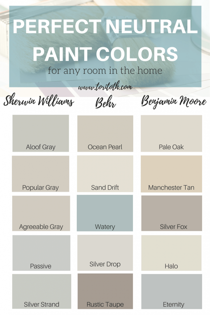 Neutral Colors Help Your House They Allow The Rooms To Stand Out Room Paint