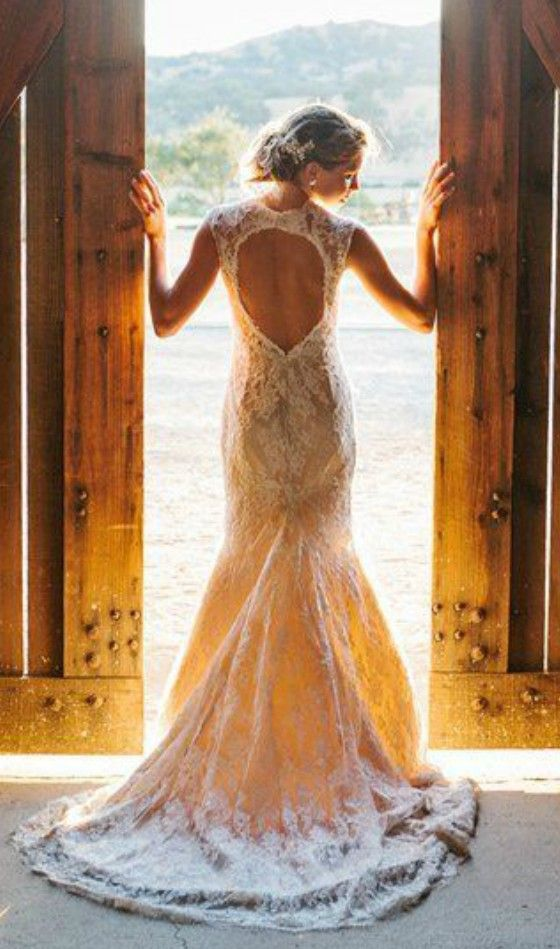20 Best Country Chic Wedding Dresses: Rustic & Western Wedding ...