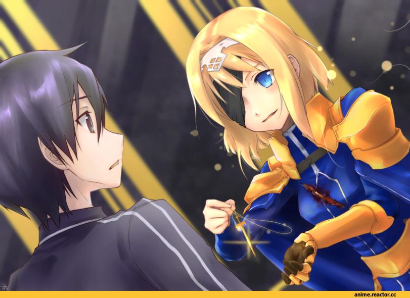 Sword art online Kirito and Alice