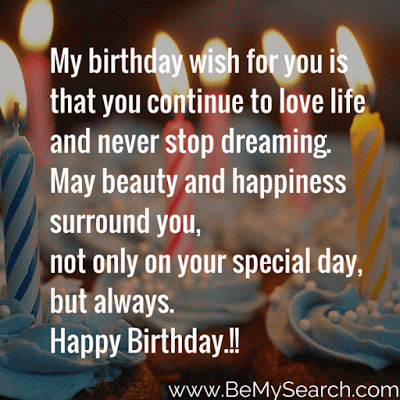 Birthday Wishes To A Loved One Quotes