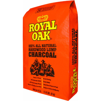 908041 Royal Oak Nat Lump Charcoal 17 6lb Royal Oak Lump Charcoal Royal Oak Charcoal