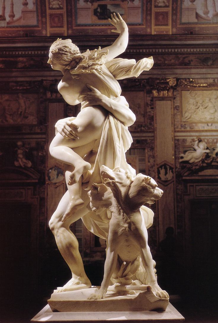 This Bernini sculpture tells the story of the abduction ...
