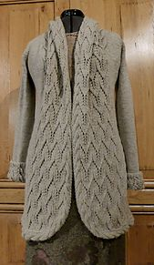 Ravelry: Winter Rosina Jacke pattern by FadenStille