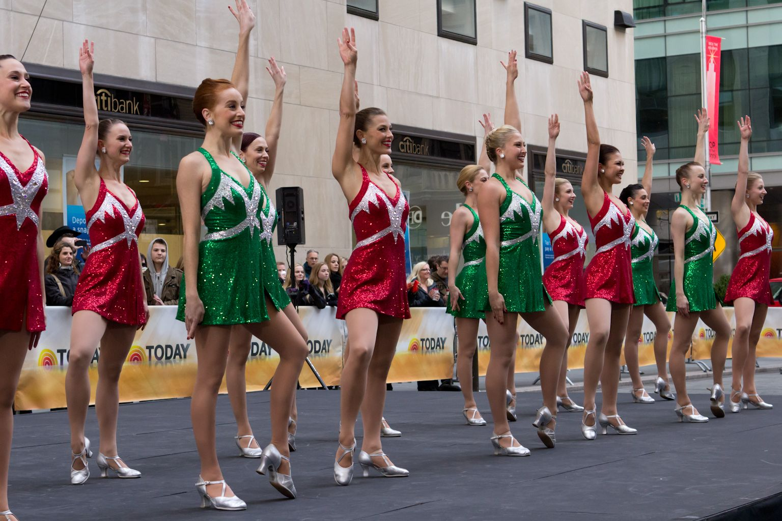 Rockettes 85ROX TodayShow Rockettes, Radio city music