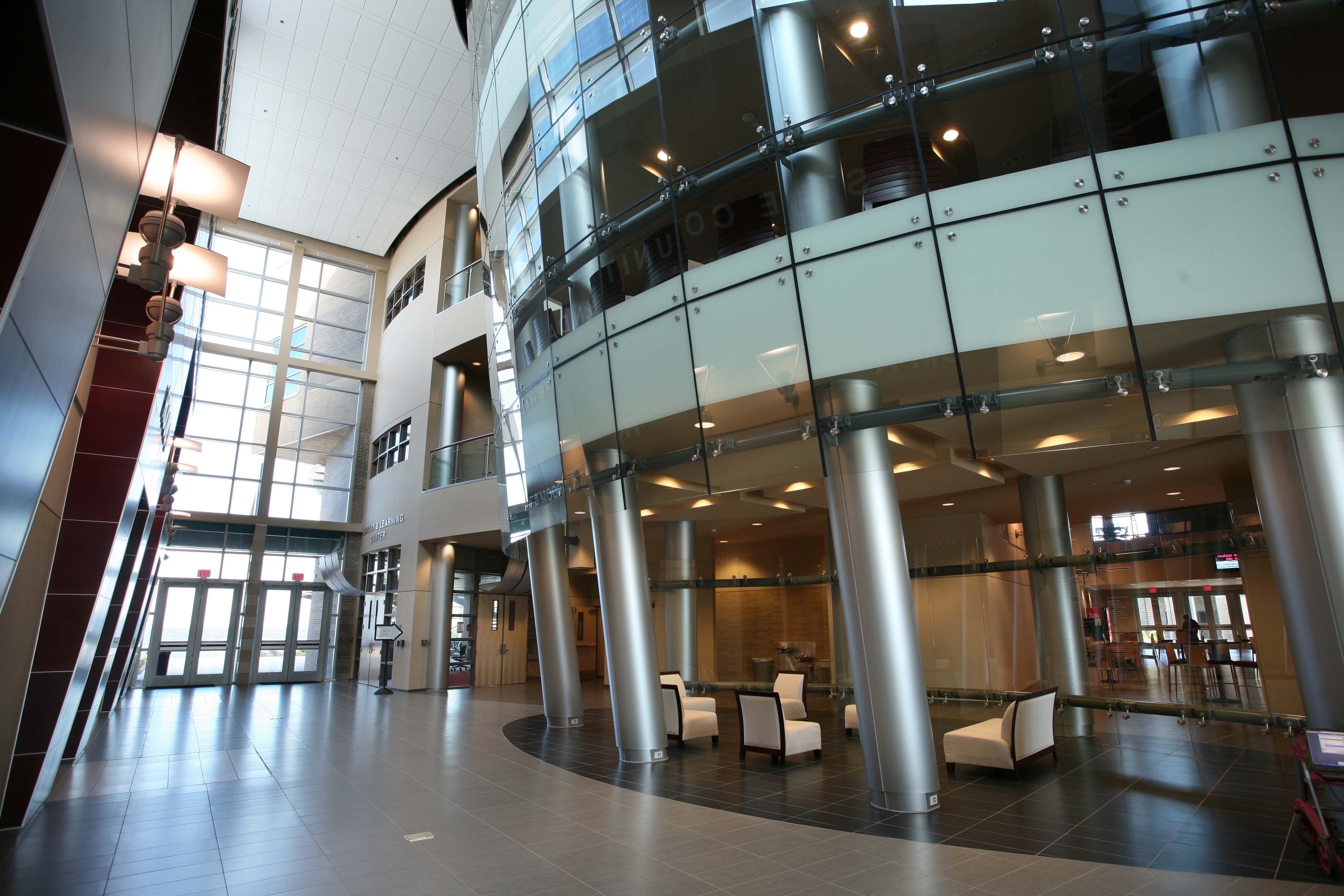 The Rotunda Inside The Holley Academic Center Features Stunning