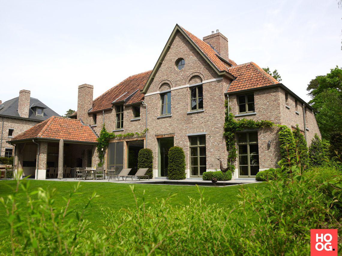 Sels exclusieve villabouw vlaams landhuis schoten hoog