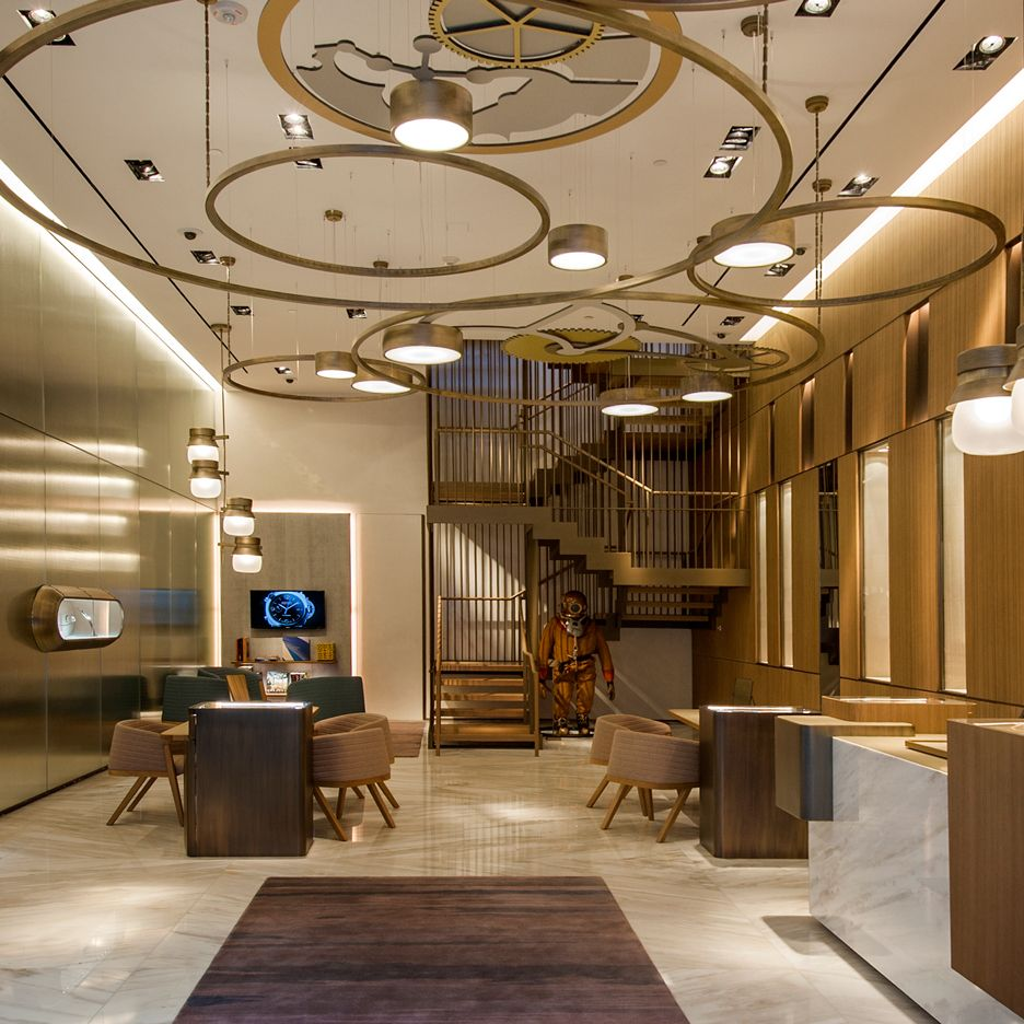 Interior Decor Stores: Patricia Urquiola's Miami Store Design For Panerai