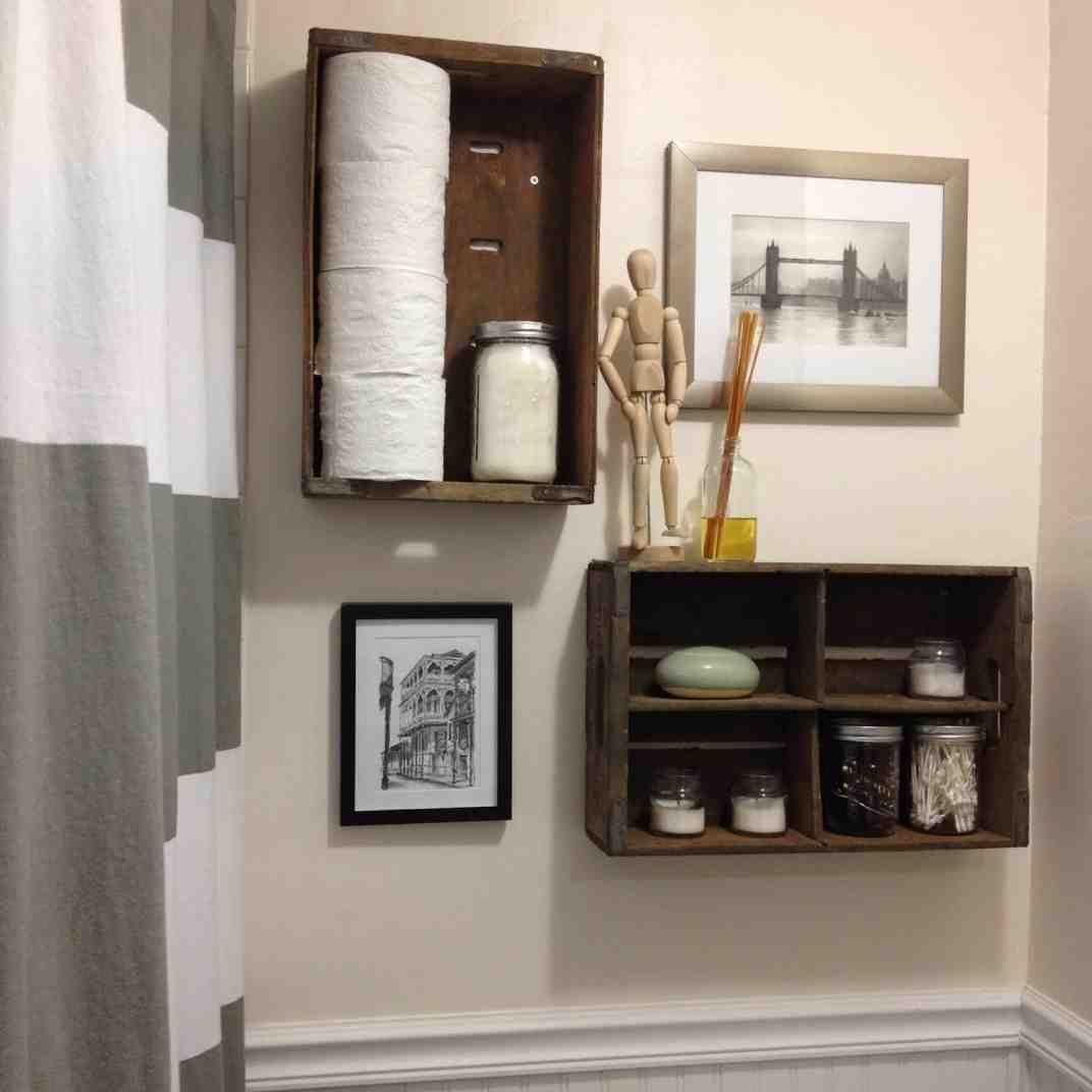 Decorative Bathroom Storage
