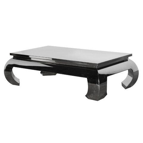 Lexington Chunky Chrome Coffee Table - Lexington Chunky Chrome Coffee Table Lexington, Squares And Products