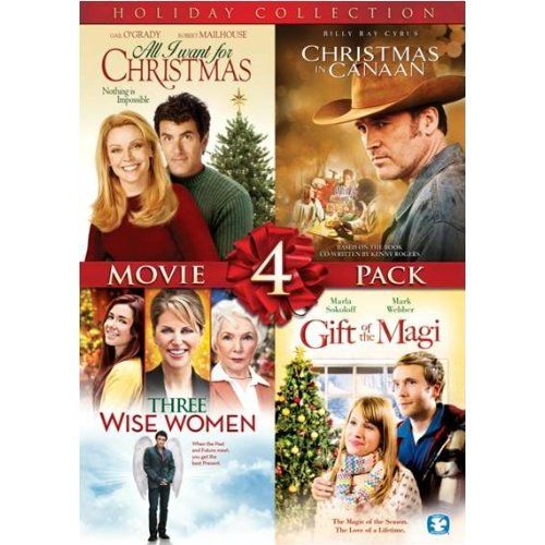 Amazon Com 4 Film Holiday Movie Collection Tori Spelling William Shatner Billy Ray Cyrus Fionnula Flanag Holiday Movie Movie Collection Holiday Collection