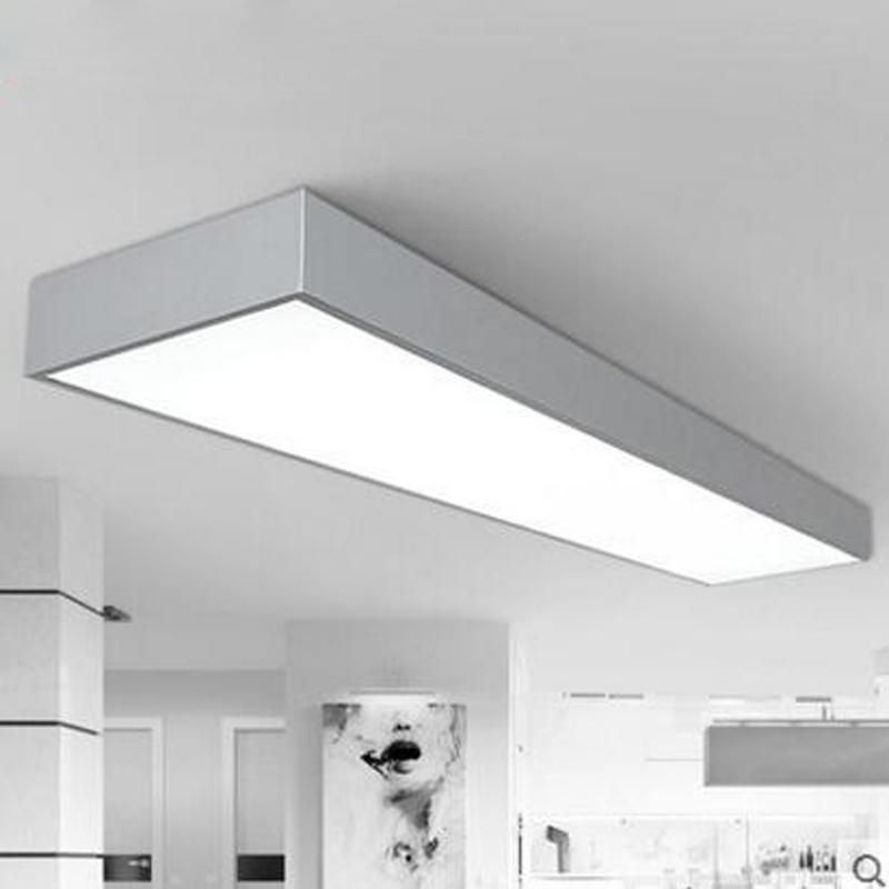 Led Office Ceiling Lamp Modern Minimalist Rectangular Balcony