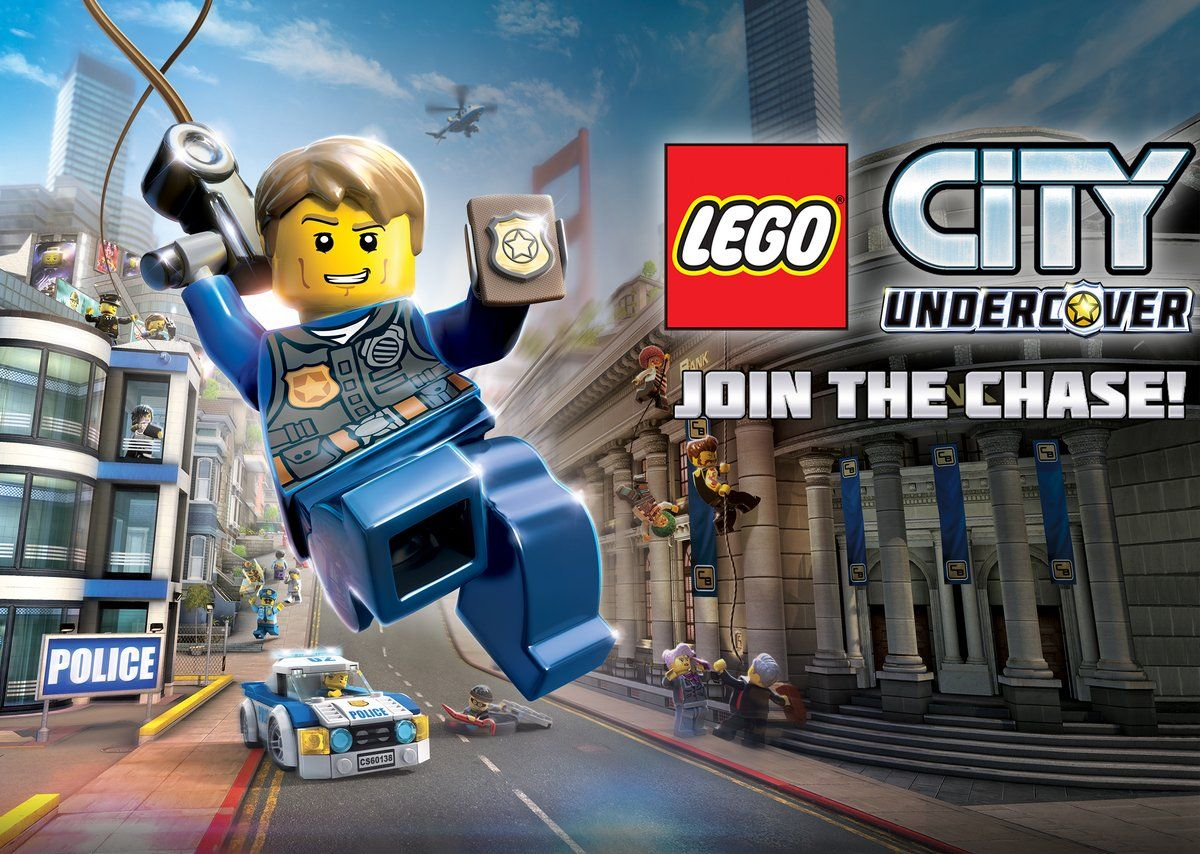 Switch-bound Lego City Undercover shows off its improved graphics in this first trailer