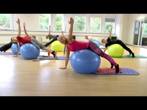 pilates mit dem gymnastikball teil 2 youtube fitness. Black Bedroom Furniture Sets. Home Design Ideas