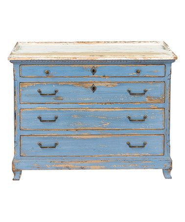 Love this Ingrid Weathered Chest of Drawers on #zulily! #zulilyfinds
